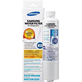 Samsung DA29-00020B Refrigerator Water Filter 1 pack