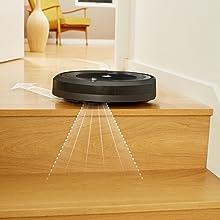 robot, aspirador, roomba, inteligente, limpieza, escaleras, desniveles, programable, hogar