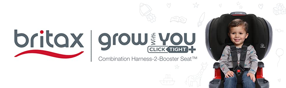 Britax Grow With You ClickTight Plus Header