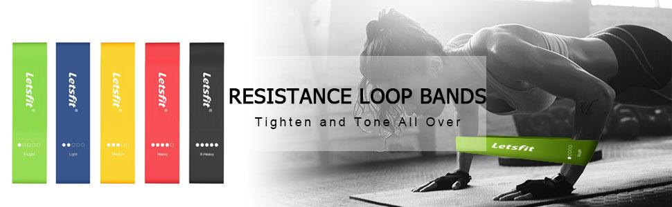 letsfit resistance loop bands