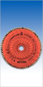 36 to120-grit Trimmable Premium Ceramic Flap Disc Type 29 (10 Pack)