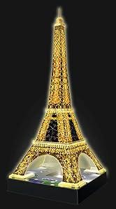 Amazon Com Ravensburger Eiffel Tower Night Edition