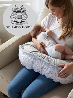 boppy pillow, boppy pillow cover, nursing pillow, infant, newborn, nursing, breastfeeding, nursery