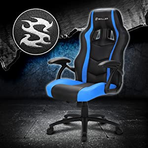 Elegante silla gaming en un diseño deportivo