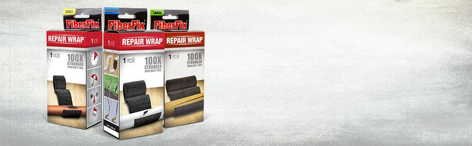 Fiberfix Shark Tank >> Fiberfix 1 2 4 Repair Tape Wrap 3 Pack Fix Anything With