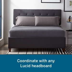 lucid head boards bed base and headboard