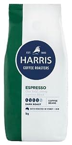 Harris coffee, dark roast, coffee beans, espresso, whole coffee beans