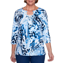 Alfred Dunner Print Knit Tops