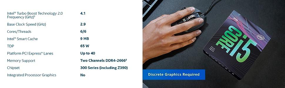 Intel Core i5 9400F processor