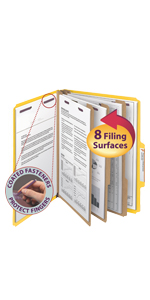 smead classification file folders,filing products,legal,letter,office,home,classroom,projects