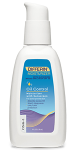 Oil Control Moisturizer with Sunscreen