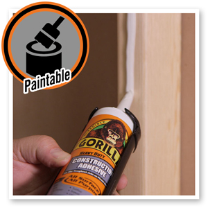 Gorilla Heavy Duty Construction Adhesive liquid nails sika pl glue waterproof pl200 loctite outdoor