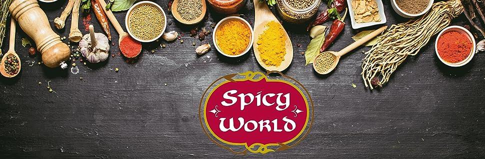 Spicy World Header