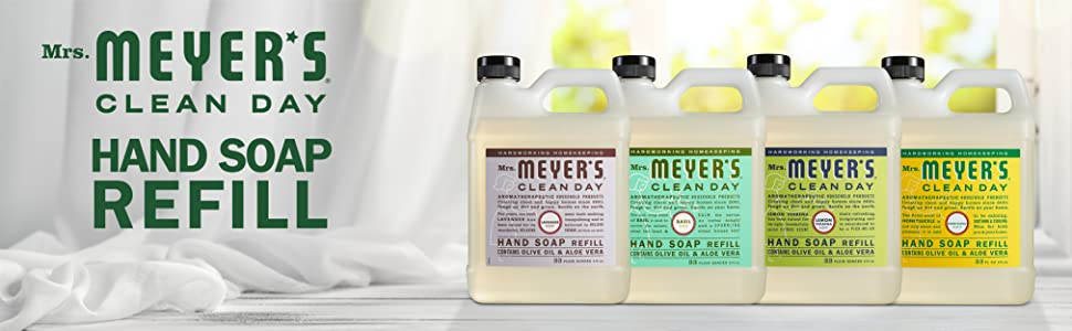 Mrs. Meyer's Hand Soap Refill, Bulk