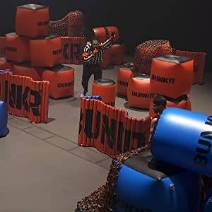 Amazon Com Bunkr Inflatable Battlezone Battle Royale Set