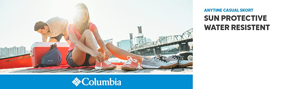 Columbia Women's Anytime Casual Skort (shorts skirt)