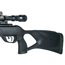 thumbhole stock pellet rifle, synthetic stock air rifle, high power air rifle