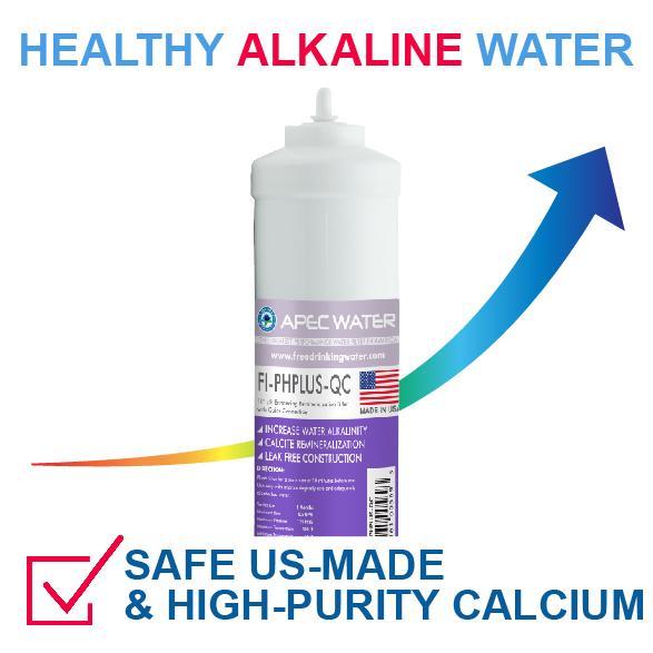 Apec Top Tier Alkaline Mineral Ph 75 Gpd 6 Stage Ultra