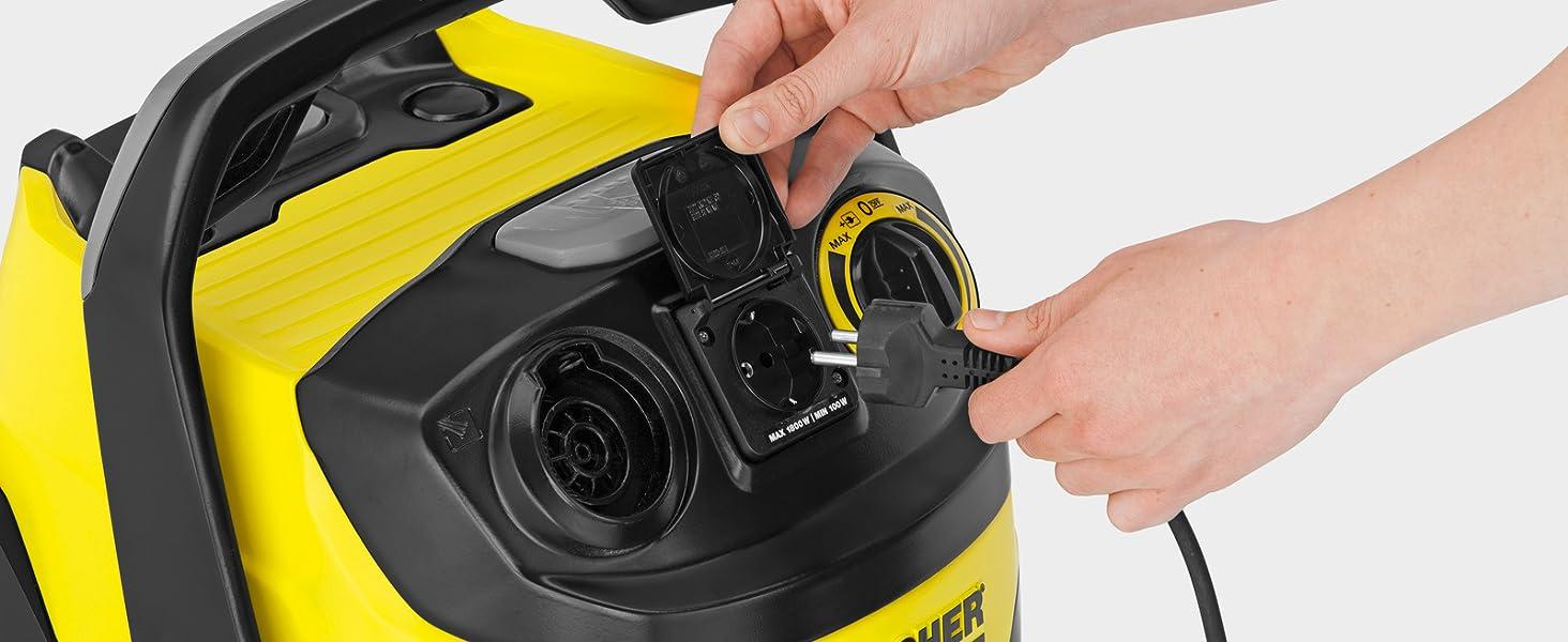 Kärcher WD6 P Premium - Aspirador en seco y húmedo, 1300 W, 30 l ...