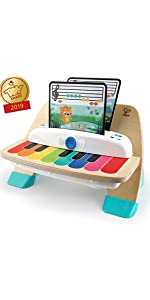 baby einstein piano magic touch learning development toy
