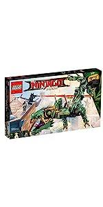 Amazon.com: LEGO NINJAGO Movie Green Ninja Mech Dragon 70612 ...