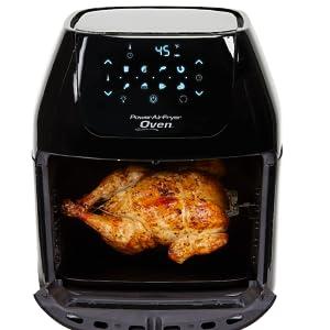 power air fryer cooker, chip pan, mini oven, rotisserie, dehydrator