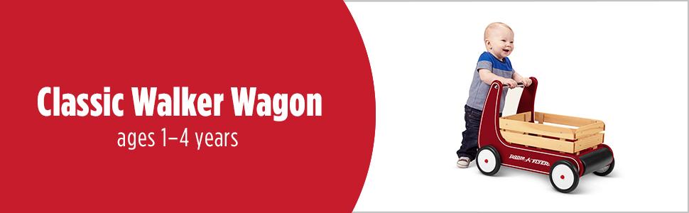 classic walker wagon radio flyer