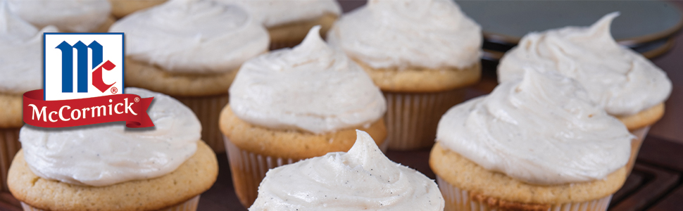 Vanilla Bean Paste, Cupcakes, Icing