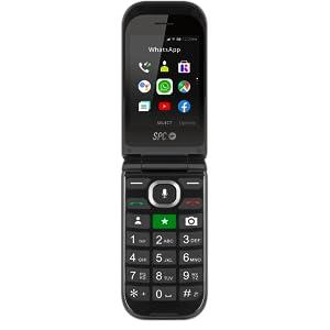 SPC Jasper Teléfono Móvil con Whatsapp y Botón Sos para Personas ...