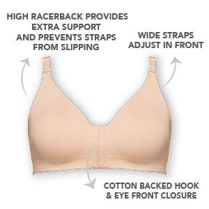 8038eebc73 Annette Women s Post-Surgical Softcup Wirefree Bra at Amazon Women s ...