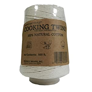Amazon Com Regency Natural Cooking Twine 1 2 Cone 100 Cotton 500ft Kitchen Dining