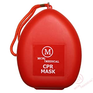0e2c965a6490 Amazon.com  MCR Medical CPR Rescue Mask