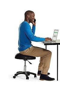 Amazon Com Gaiam Balance Ball Chair Stool Half Dome