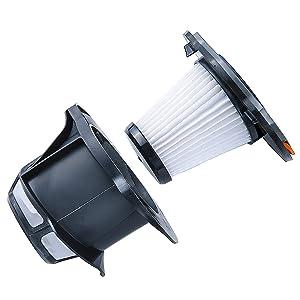 AEG AEF142 Filtro para aspiradoras Escoba CX8, Plástico, Negro, Blanco: Amazon.es: Hogar