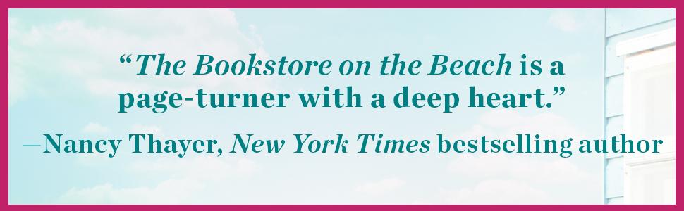 Bookstore on the Beach Brenda Novak contemporary romance women's fiction summer vacation funny humor