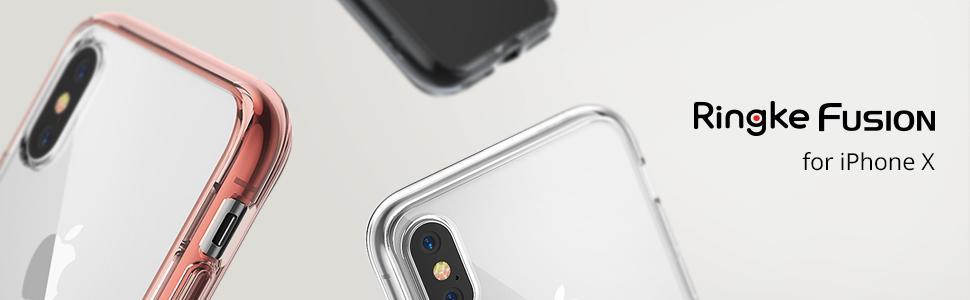 Huse Ringke Fusion pentru iPhone X