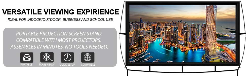 versatile viewing experience indoor outdoor