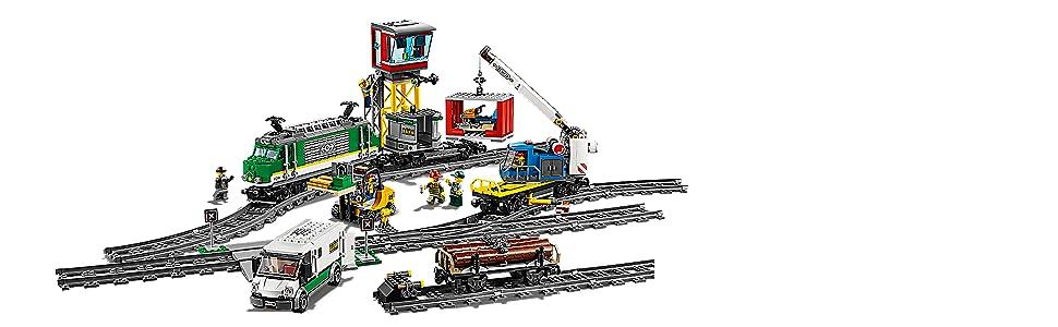 LEGO, City, train