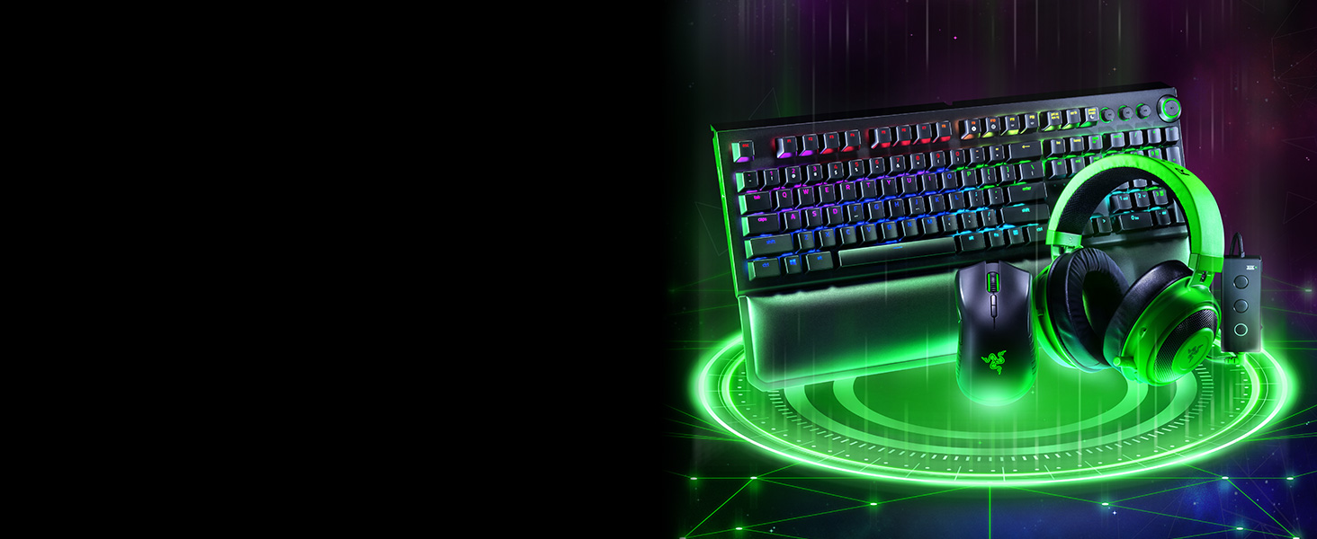Razer BlackWidow Elite, Gaming Tastatur, Esports, Mechanische Tastatur