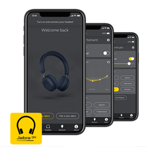 The Jabra Sound+ app The perfect companion to your Jabra headphones. Personalise your sound