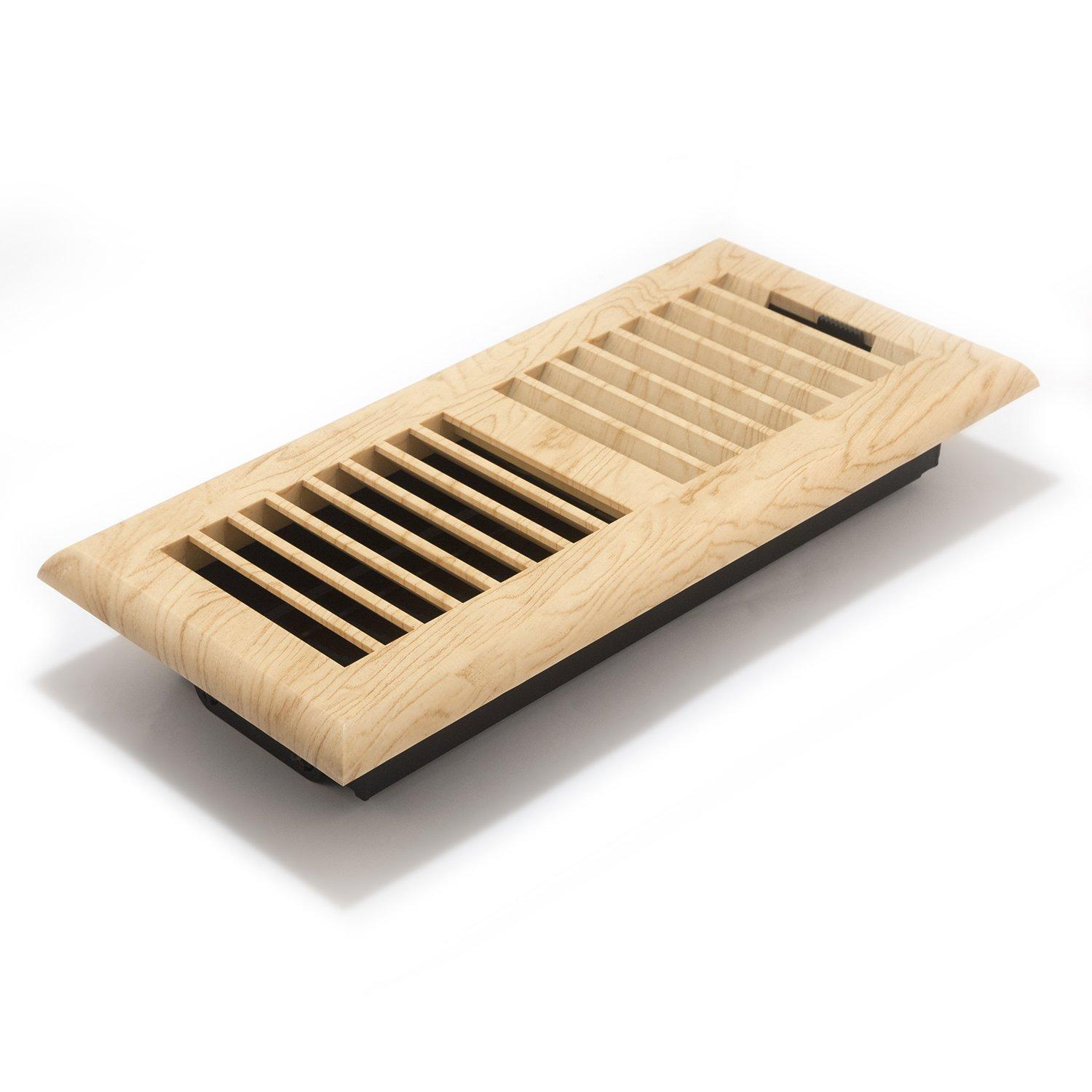 Accord apfrmpl410 plastic floor register with louvered for 8x10 wood floor registers
