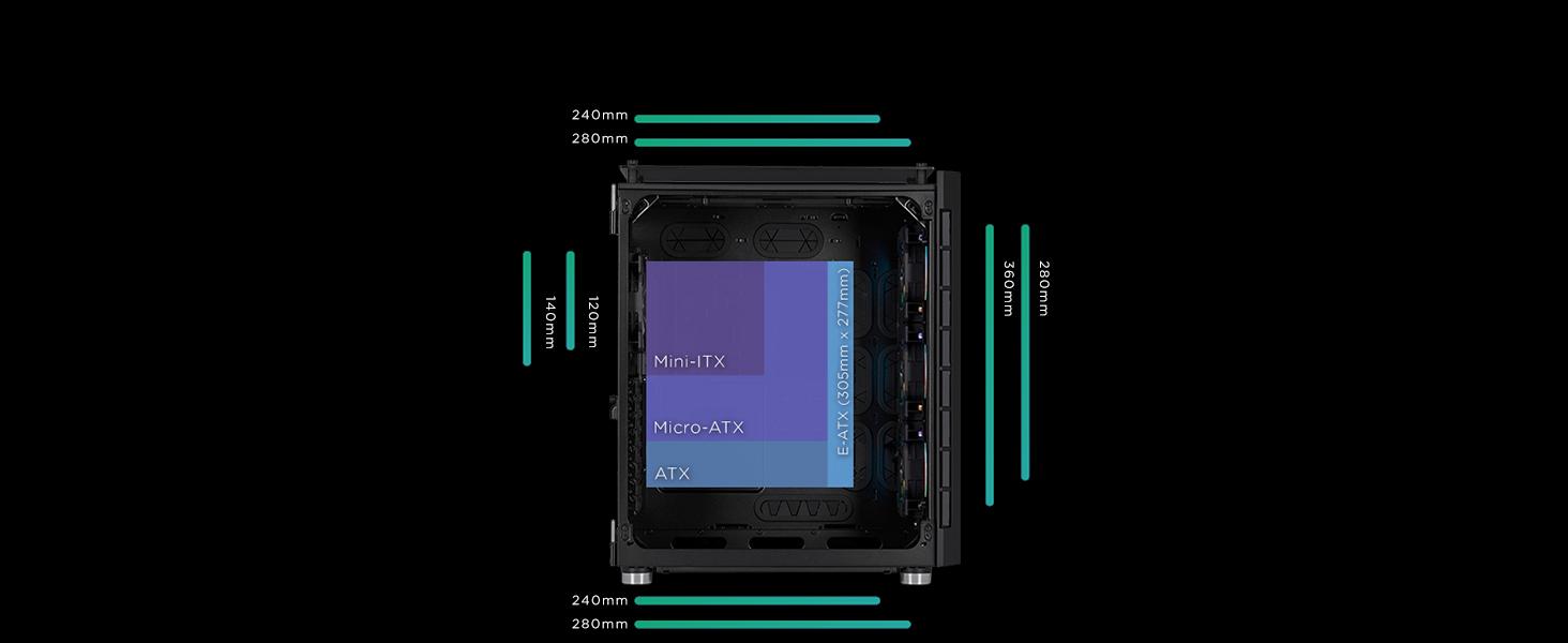 680X RGB black