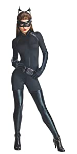Women's catwoman stretch catsuit