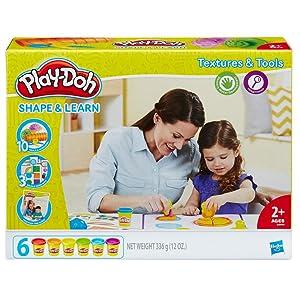 Play-Doh Aprende Colores y Formas, multicolor, 20 x 22 cm