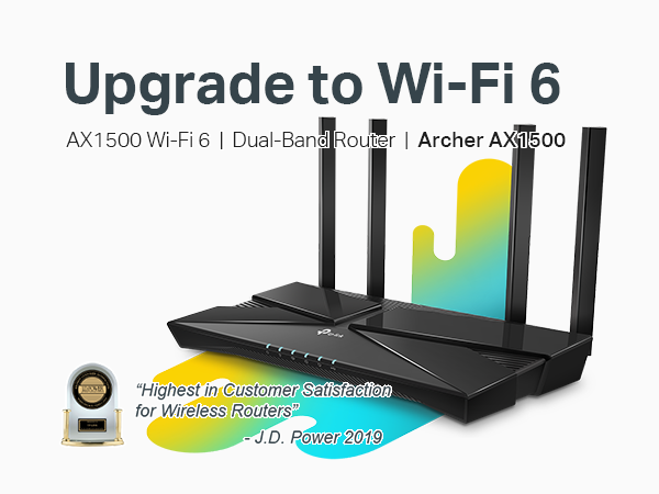 Archer AX10 WiFi 6 Router