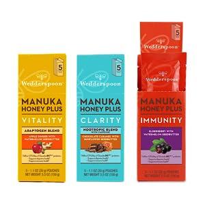 Raw, Honey, New Zealand, Manuka, Unfiltered, Unpasteurized, Drops, Vinegar, Snack, Healthy, Tea