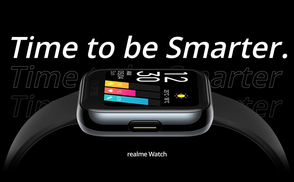 realme Watch - Smartwatch, frecuencia cardíaca PPG, saturación de oxígeno (SpO2)