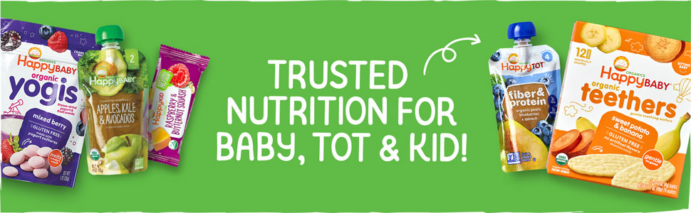 Trusted nutrition for baby, tot & kid