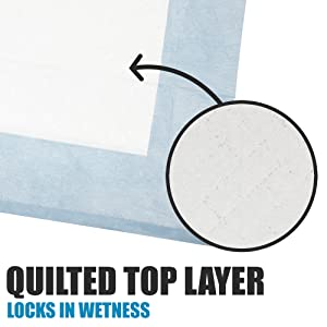 Qulited Top LAyer