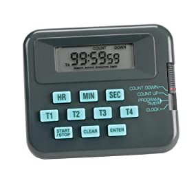 Heathrow Scientific HD24490D Pocket Timer//Stopwatch with LCD Display 71mm Length x 61mm Width x 25mm Height